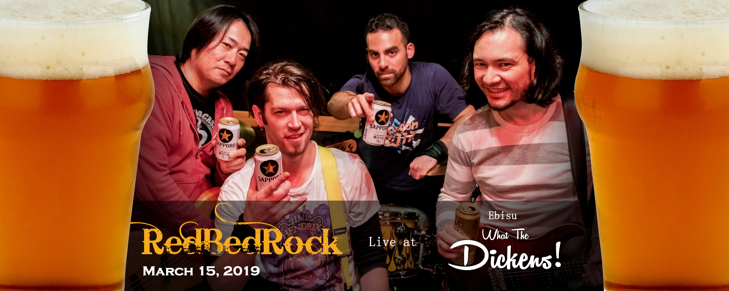 RedBedRock Celebrating Beer!