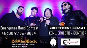 RedBedRock Birthday Bash & Emergenza mega event!