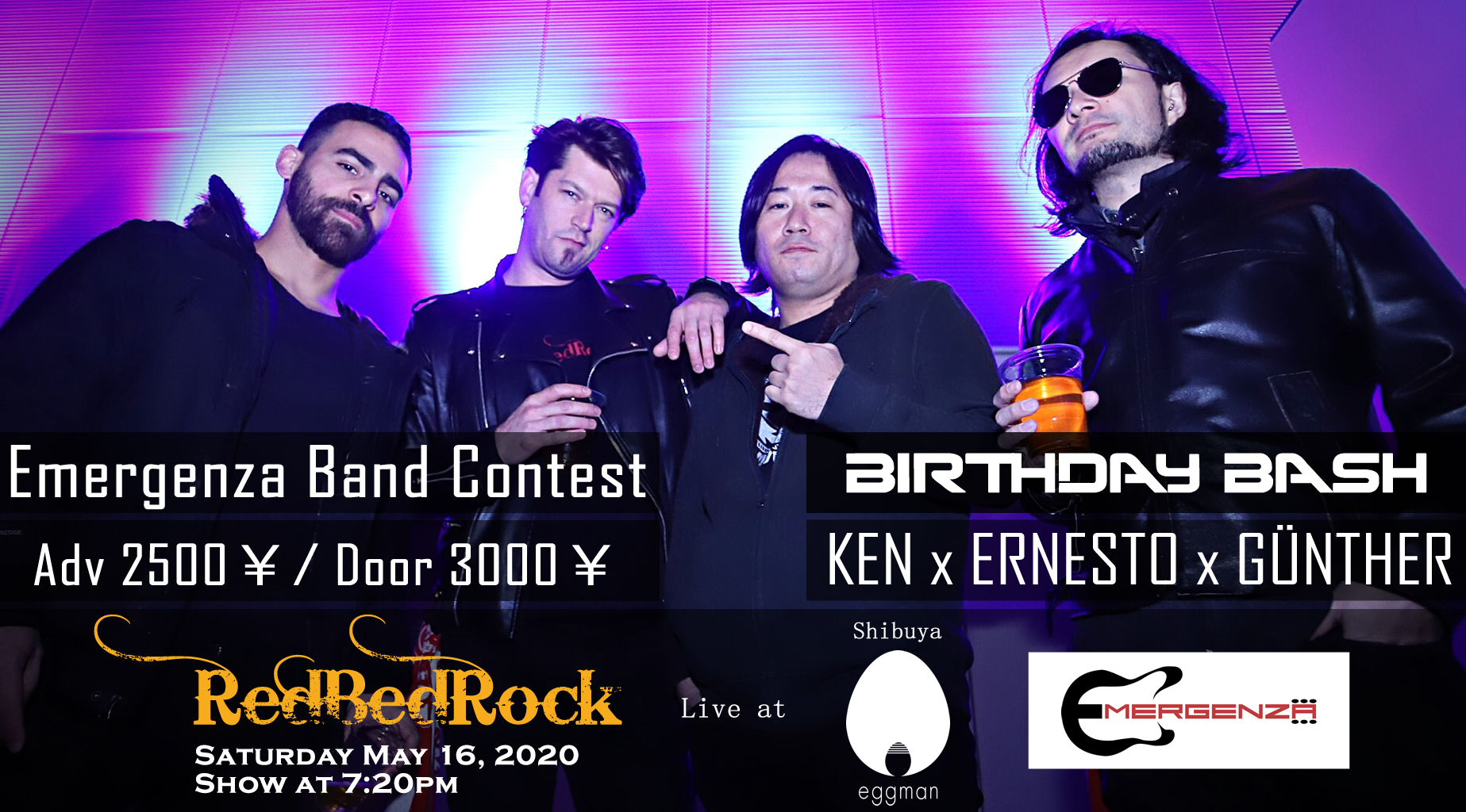 RedBedRock Birthday Bash & Emergenza mega event!